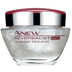 Avon Anew Reversalist Sterling Emulsion. An intensely moisturising gel-cream that targets dryness, discolourations and wrinkles.  Avon Australia New Zealand #AvonAUSNZ #skincare #makeup #cosmetics #beauty   http://avon.com.au   http://avon/co.nz http://beautyforapurpose.com.au