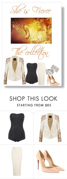 """Untitled #610"" by exoduss ❤ liked on Polyvore featuring Roberto Cavalli, Yeezy by Kanye West, Christian Louboutin and Tiffany & Co."