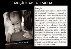 Neurociências em benefício da Educação!: Emoção e aprendizagem