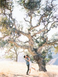 Relaxed and casual engagement shoot: http://www.stylemepretty.com/2016/10/08/santa-ynez-engagement-session/ Photography: Sally Pinera - http://sallypinera.com/