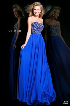 Платья sherri hill длинные