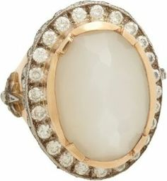 sara weinstock moonstone diamond ring