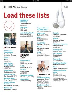 Cardio playlists -- could use for spin class One Song Workouts, Workout Songs, Fit Board Workouts, Workout Classes, Bike Workouts, Swimming Workouts, Swimming Tips, Workout Exercises, Workout Ideas