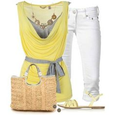 Yellow Top for Summer