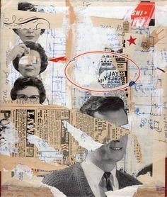 aaron beebe   mixed media collage