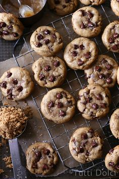 Salted Brown Butter Chocolate Chip Cookies   Tutti Dolci