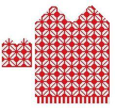 Knitted Mittens Pattern, Knit Mittens, Knitted Gloves, Knitting Socks, Hand Knitting, Knitting Charts, Knitting Stitches, Knitting Patterns, Bead Loom Patterns