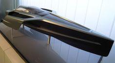 Futuristic, AUDI Trimaran Yacht By Stephanie Behringera