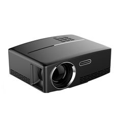 [$57.64] GP80 1800LM 1920*1080 HD Home Theater LED Projector with Remote Controller, Support HDMI, VGA, AV, USB Interfaces(Black)