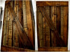 Sliding Barn Door  Designed and built by memers of Rescued Workbench