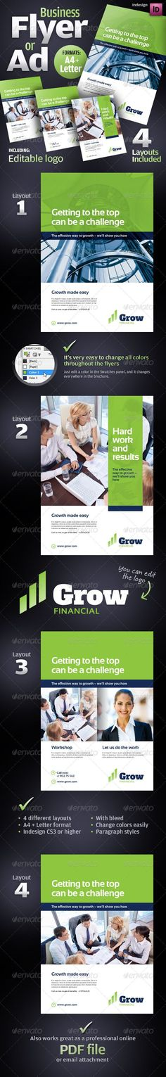 57 Best Super Cool One Sheets images Brand design, Corporate