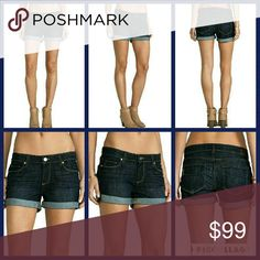 Paige Jimmy Jimmy Boyfriend Denim Shorts Dark wash Bnwt PAIGE JIMMY JIMMY BOYFRIEND SHORTS IN dean dark wash  SZ 31 NEW with tag AUTHENTIC  More details and pics to be posted shortly pls check back soon  Xoxo Paige Jeans Shorts Jean Shorts