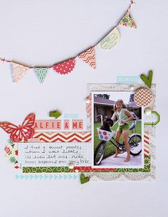deb duty photography + scrapbooking: summer of 69 layouts: the rest Scrapbook Sketches, Scrapbook Page Layouts, Scrapbook Pages, Smash Book Pages, Kids Pages, Baby Memories, Scrapbook Embellishments, Studio Calico, Baby Scrapbook