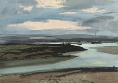 Rowland Hilder, P.R.I., R.S.M.A. (1905-1993) | East Coast Marsh ...