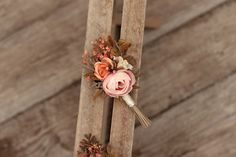 groom's boutonniere by EvaFleurs on Etsy Groom Boutonniere, Etsy