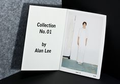 ALAN LEE 14 Lookbook by Kevin Pfaff, via Behance