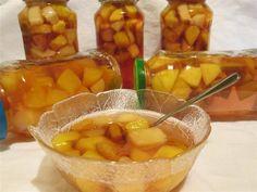 Reteta culinara Compot de toamna din categoria Conserve. Cum sa faci Compot de toamna Punch Bowls, Cantaloupe, Shrimp, Food, Canning, Meal, Essen, Hoods, Meals