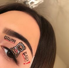 Makeup Inspo, Makeup Art, Makeup Inspiration, Makeup Tips, Beauty Makeup, Creative Makeup Looks, Unique Makeup, Cute Makeup, Eyeshadow Ideas