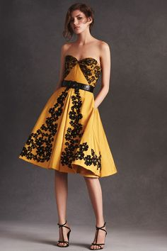 A look from Oscar de la Renta's resort 2016 collection