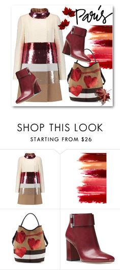 """""""I love Paris in the Fall"""" by eileenelizabeth ❤ liked on Polyvore featuring Giambattista Valli, Burberry, Michael Kors, polyvoreeditorial, polyvorecontest and fallgetaway"""