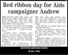 Still raising HIV/AIDS awareness in Cornwall.  #LGBT  http://www.lgbthistorycornwall.blogspot.com
