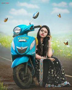Indian Bridal Photos, Nice Girl, Picsart Background, New Star, Beautiful Girl Photo, Indian Beauty Saree, Girl Photos, Ethnic, Editorial