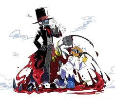 villainous black hat Dr. Flug