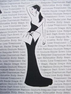 ROBERT KAUFMAN FABRIC  CITY CHIC  100% COTTON  SOLD BY THE YARD - 36 X 44  Robert Kaufmans City Chic print features glamorous women in black evening gowns on a white background. There is wording on the background with seamstress and fashion terms. The women measure approx. 3 x 5 and the fabric is on a 24 repeat. We carry an assortment of high quality cotton fabrics. Fabric cuts are directly off the bolt from a smoke-free environment. Thanks for looking. We always combine shipping on multiple…