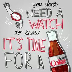 Diet Coke😄 Diet Coke Addiction, Caffeine Addiction, Non Alcoholic Drinks, Beverages, Always Coca Cola, Coca Cola Bottles, Teacher Appreciation Gifts, Gift For Lover, Quotes