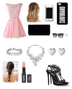 """""""Moda Verão"""" by beatriz-2000-azevedo ❤ liked on Polyvore featuring Dsquared2, Forever 21, Free People, Ray-Ban, Vizati, Links of London and happy"""