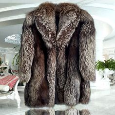 Fur coat , Silver Fox genuine 100% made Italy Size 14 | Clothing, Shoes & Accessories, Women's Clothing, Coats & Jackets | eBay!