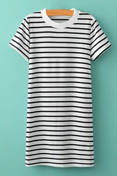 striped summer dress