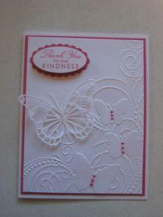 Darice Butterfly Embossing Folder on Pinterest
