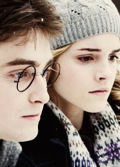 Harry Potter and Hermione Granger #pottertime #mindhplove