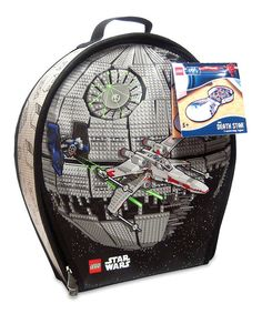 Awesome LEGO Star Wars ZipBin Storage Case on Zulily