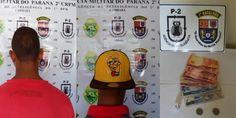 Apreensão de dois menores com droga e dinheiro - http://projac.com.br/policial/apreensao-de-dois-menores-com-droga-e-dinheiro.html