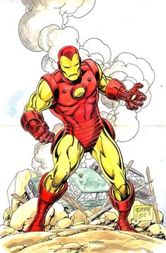 Iron Man by Tom Grummett