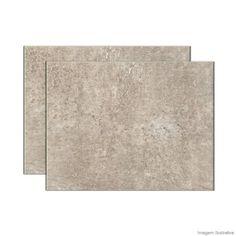 área externa - Porcelanato Vulcano 62,5x62,5cm gray Elizabeth - Telhanorte