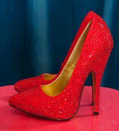 My Dorothy slippers aka Knock 'em Dead Heels