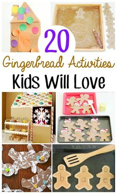 Gingerbread activities are almost synonymous with the holiday season. Think of all of the gingerbread men baked over the years and all the creativity that goes into making and decorating gingerbread h