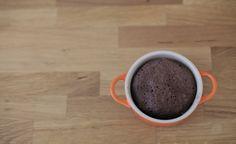 Reklampausbakning: 3 minuters chokladkaka.