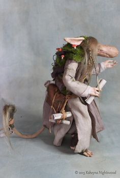 OOAK Nightswood Art Dolls