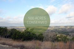 This section of Brushy Top, 500 acres, is conserved with the Texas Land Conservancy. Other parts of Brushy Top are conserved with TLC as well, making a total of 1,416 acres conserved!