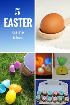 5 Easter Games ideas