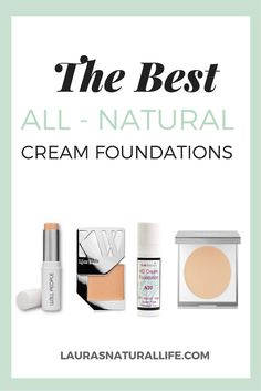 It's no secret that foundation is my favorite beauty product and that I am addicted to trying as many as I can. It seems only fair that I round up my favorites and let you know which ones you should definitely consider trying. Cream foundations are known for their incredible full coverage Organic Makeup, Organic Beauty, Natural Beauty, Natural Makeup Brands, Eco Beauty, Natural Products, French Beauty Secrets, Beauty Tips, Non Toxic Makeup