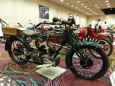OldMotoDude: 1921 McIntyre JAP 770cc sold for $16,100 at the 20...