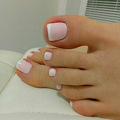 Trendy Nails Design French Tip Pink 33 Ideas feet pedicure art nail art pedi pedicure pedicure fresh feet nails pedicure Pink Pedicure, Manicure And Pedicure, Pink Nails, Pedicures, Pink Toes, Pedicure Ideas, Gold Nails, French Nail Designs, Toe Nail Designs