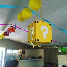 Cumpleaño Vicente!!! Level 10!!  #cumpleaños #arcade #videogames #mariobros #pacmancake