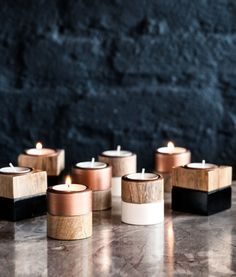 Wooden tealight holder | Product Detail | H&M