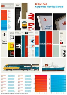 """""""Colours looking good! HUV litho scatter proof back from the printers for the British Rail Manual. National Rail, Network Rail, British Rail, Corporate Identity, Print Ads, Vintage Posters, Twitter Sign Up, Bar Chart, Branding"""